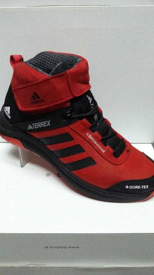 Зимние кроссовки ADIDAS TERREX (A 7) Красные