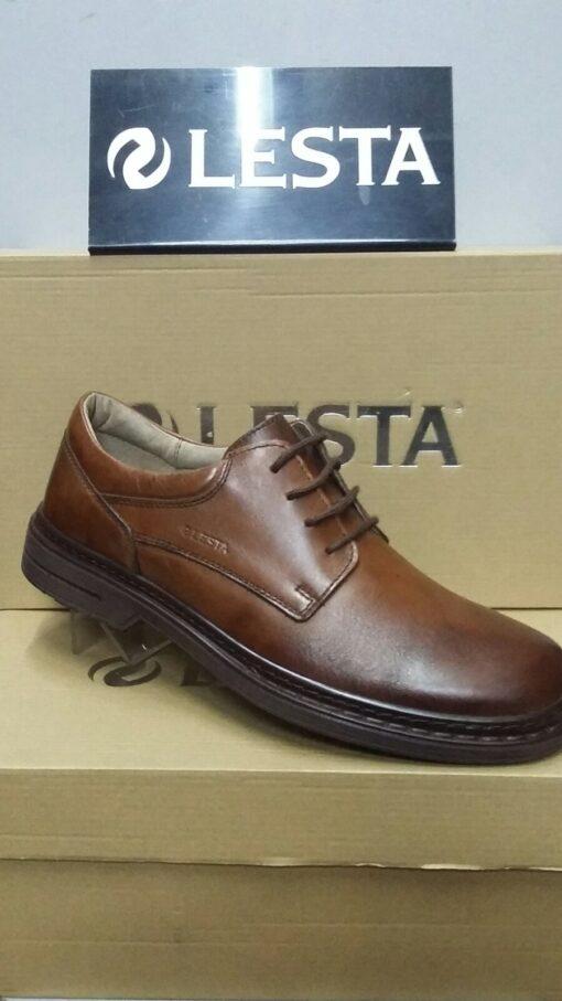Туфли повседневные Lesta 3921 (Польша) Коричневые