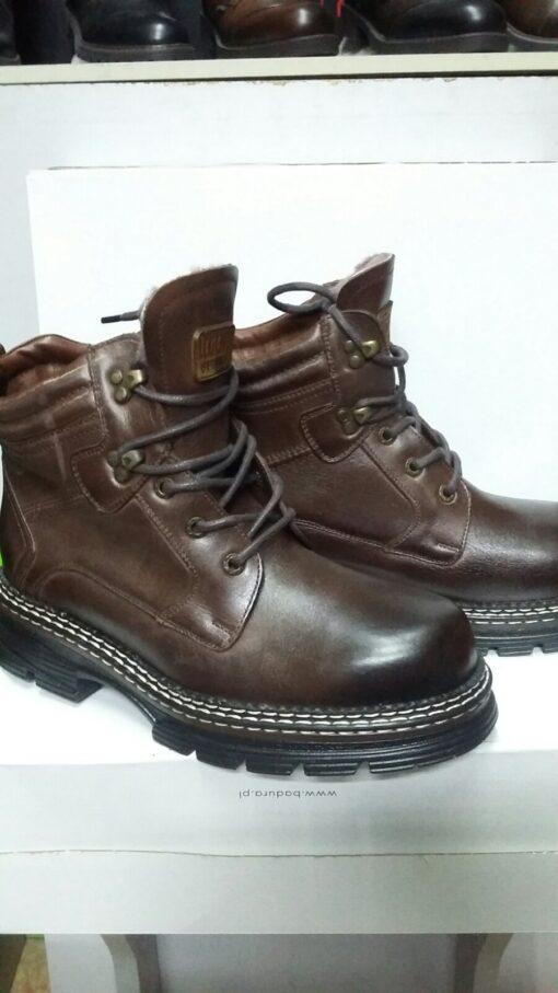 Ботинки PAN(093) Коричневые