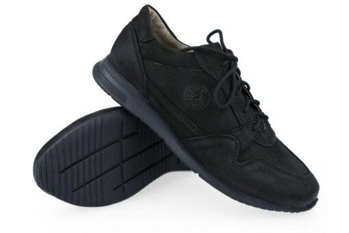 Кроссовки кожаные Lesta 4345 (Польша) Черные
