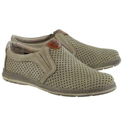 Туфли повседневные Lesta 4300 (Польша) Оливка