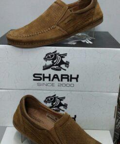 Туфли повседневные SHARK 523 горчичный