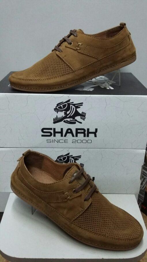 Туфли повседневные SHARK 524 горчичный