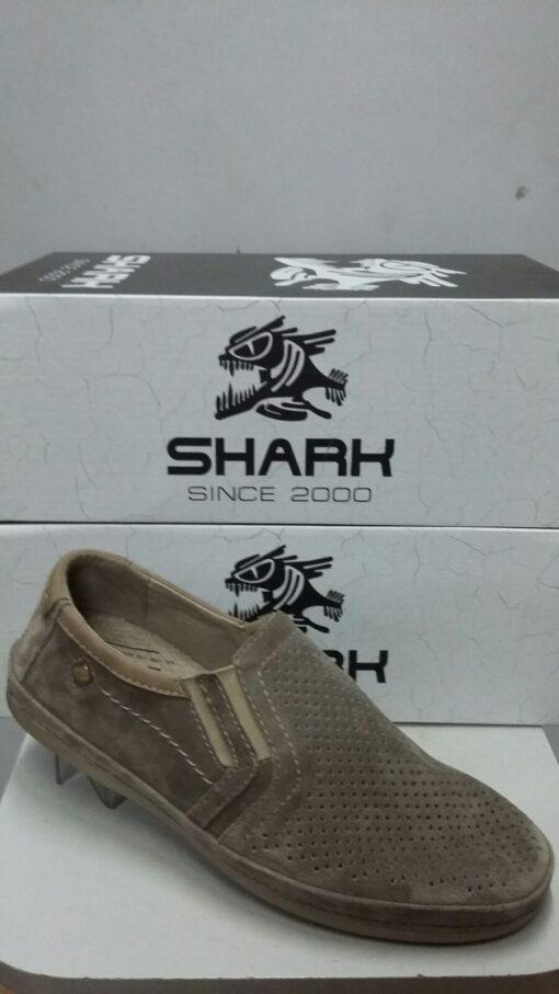 Туфли повседневные SHARK 542 серый